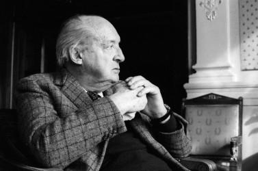 Writer Vladimir Nabokov